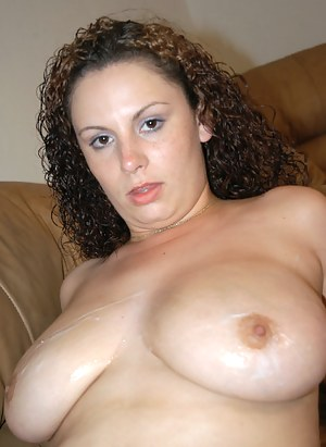 Big ass screwed and natural tits teased. Watch a super sweet MILF have an astounding tits fucking and pussy nailing session.