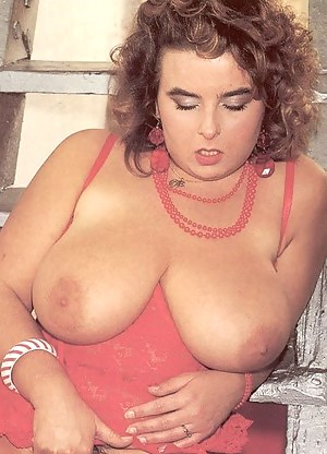 Classic big busty woman in sexy lingerie gets fucked hard