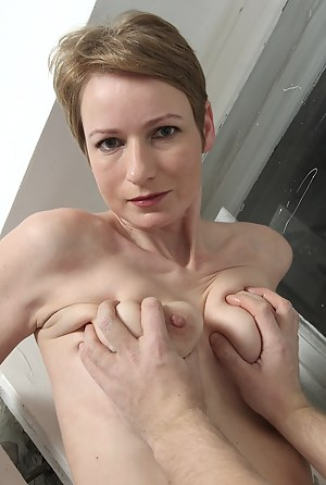 Older babe Sweet Nensy getting fucked hard.