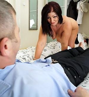 Naughty housewife doing her boyfriend