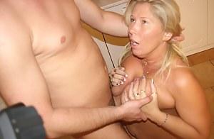 Mature slut getting fucked real good