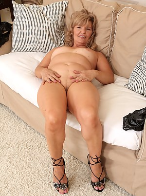 At 57 years of age hot looking Lena F looks fantastic spreading