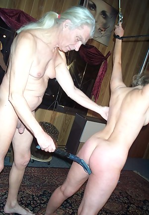Kinky housewife gets a whipping and a sticking