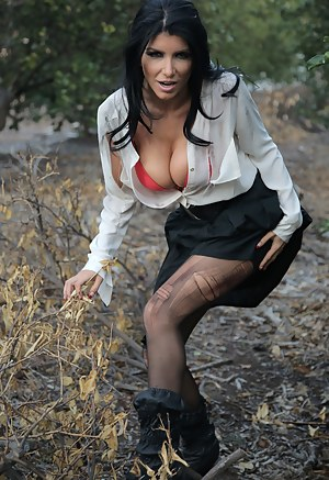 You can run, but you can't hide. After trying to escape, Romi Rain finds out that Ryan's cock is what she really needs to be a happy fuck slave.