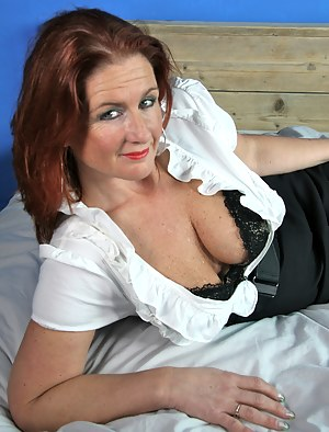 Naughty Dutch housewife teasing us for whats to come