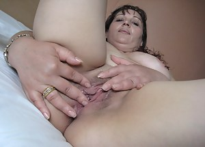 Horny Enache loves to play with her rubber toys for you to enjoy