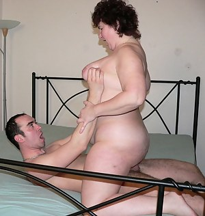 Horny mature slut getting fucked hard