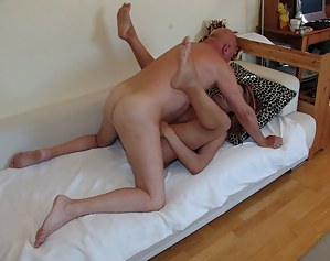 She really wants that old cock in her holes