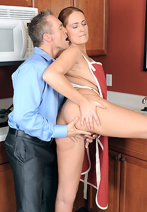 Beautiful Elexis Monroe fucked in the kitchen