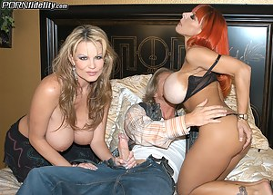 Kelly and Whitney.. OMG talk about the biggest tits ever Ryan is in titty wonderland!