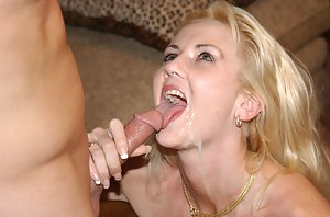 Horny blonde having flexible body is feeling great being banged in all the positions. Her lover is a great expert at satisfying MILFs.