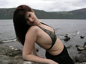 Here a horny shooting at Loch Ness.see me stripping and playing Really horny outdoor pictures..cum and enjoy