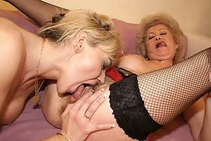 3 Mature lesbians getting really naughty and kinky