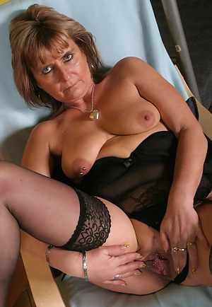 This housewife gets horny when she is alone