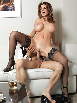 This milf gets it good and takes a big cock like a champion