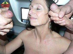 She sucks cocks in cars and loves a facial